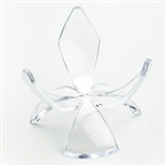 Acrylic Egg Stand, Tulip Reversible 2.5""