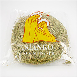 Christmas Hay (0.36 oz) Our Polish hay comes from the National Park Krzezonowsk.  Incorporate it into your Wigilia celebration this year.