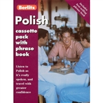 Berlitz Polish Cassette Pack, Cassette and Phrase Book - Makes Polish easy to learn - just listen and repeat with native speakers Audio script... Complete transcript of all the recorded phrases & dialogues