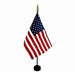 United States Flag On Stick, Rayon