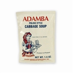 Adamba Polish Style Cabbage Soup is easy to make.  Instructions in Polish and English