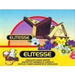 Elitesse have been a Polish favorite for many years.  These chocolate covered wafers are shaped like a triangle and layered with a cocoa filling. Ideal for parties, lunch snacks and especially as an accompaniment with coffee or tea