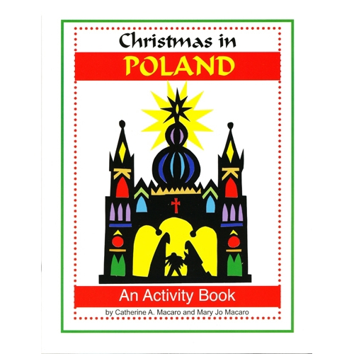 A Coloring Book For Children With 30 Pictures To Color Highlighting Polish Christmas Customs And Traditions