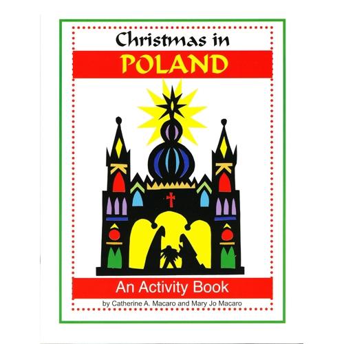 polish art center christmas in poland a book to color