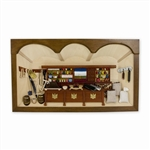 Polish Dry Goods Shop Shadow Box - Large