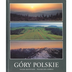 A beautiful collection of color photographs of the three chains of mountains in Poland: