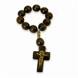 Polish Wooden Finger Rosary