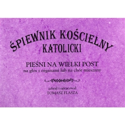 Catholic Church Old Polish Hymnal - Lenten Hymns