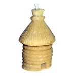 This beeswax candle is hand made by the residents of Dom Teczowy, a home for the mentally impaired located in Sopot, Poland. Your purchase helps to support the Dom Teczowy Foundation that provides the care for the residents. The Polish beehive has a very
