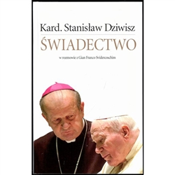 Cardinal Stanislaw Dziwisz describes his 40 years as personal secretary to the Pope John Paul II, who died at age 84 in 2005.  231 Pages, Polish Language text.  Published 2007. The Pope's personal secretary for 30 years