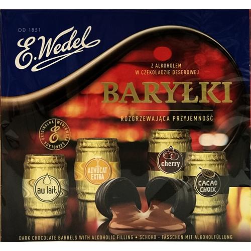 Polish Art Center E Wedel Barylki Dark Chocolate Barrels