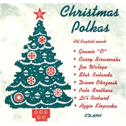 Sixteen Christmas Polkas, all English vocals, sung by various artists. Light and lively Christmas music, which gets you toe-tapping in a hurry!