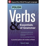 """Polish Verbs & Essentials of Grammar"" offers a solid foundation of major verbal and grammatical concepts of the language, from pronouns to adjectives and from irregular verbs to conjunctions, includes information on the Polish alphabet and pronounciation"