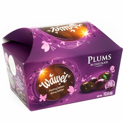 An old Polish specialty with an unforgettable taste. Better than sugar plums! These are candied plums covered in delicious Polish dark chocolate!  Not individually wrapped.  These are addictive, you wouldn't be able to eat just one!