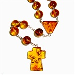 "These pure amber beads measure approximately .25"" (0.5cm) each in diameter."