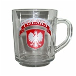 Child's Mug with Polish Eagle Emblem