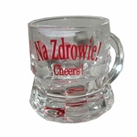 """Na Zdrowie"" Eagle Shot Glass - Single"