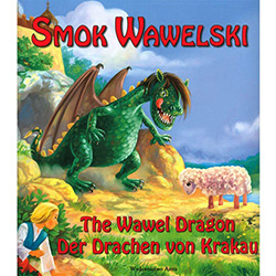 A long time ago at the foot of Wawel hill in Krakow lived a fire breathing dragon.....so the legend goes.