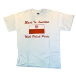 Made in America with Polish Parts T-Shirt, Children's