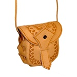 Hand Crafted Leather Shoulder Purse-Pouch