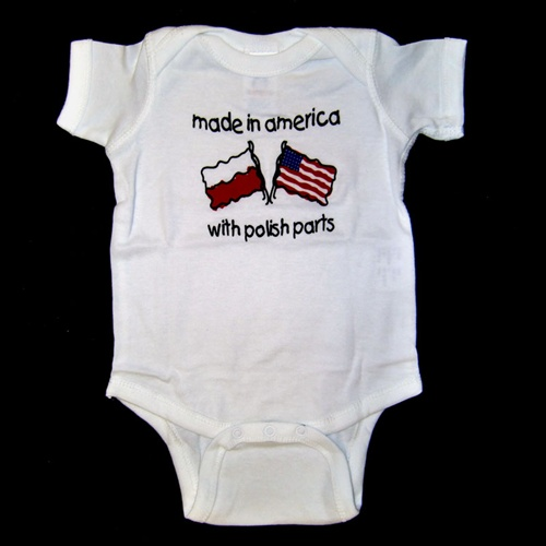 Baby Clothes Made in the USA. When you know they're made in America, baby clothes are even more precious. Depend on All USA Clothing to bring you darling selections for your littlest one that reflect your commitment to home-grown shopping. Because all of our baby clothes are made in the USA, you're assured quality, value and pride in every piece.