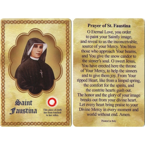 saint faustina October 5th is the feast day of saint maria faustina kowalska born helena kowalksa in poland on august 25, 1905, she was the third of 10.