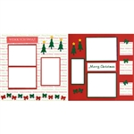 Polish Scrapbook Paper - Christmas 2 Page Kit #1