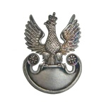 Replica of the Polish Army Insignia.  Made in the workshop of Warsaw's finest engraver and medal maker.