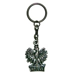 Metal Polish Eagle Keychain with Polska (Poland) on the base.