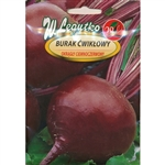 Dark Red Beet produces globe-shaped roots with blood red, juicy flesh. Variety ideal for direct consumption, winter storage and processing.  Approximately 100 -110 days from planting to harvest.