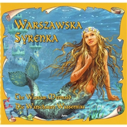 The Syrena is the symbol of the city of Warsaw which is why it is on the city's crest.  Here is the tale of the mermaid and how she became that symbol.  Beautifully illustrated and written in three languages, Polish, English and German.