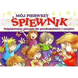 A collection of 69 Polish children's songs with words and notes, colorful art illustration  These traditional songs have been part of Polish history, some over 200 years old.