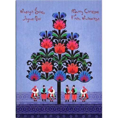 Polish Art Center - Polish Folk Christmas Card ...