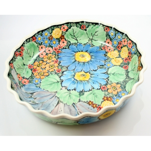This is one of the most unusual designs for two reasons 1. The painting  sc 1 st  Polish Art Center & Polish Art Center - Unikat Polish Pottery Stoneware Pie Dish ...