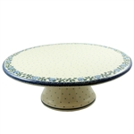 Use as a cake stand or to display deserts like cupcakes.  Hand made in Poland and artist initialed.
