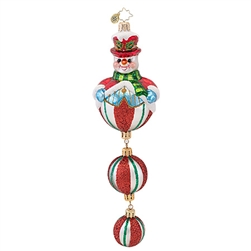 Exquisite workmanship and handcrafted details are the hallmark of all Christopher Radko creations. Bring warmth, color and sparkle into your home as you celebrate life's heartfelt connections. More than just ornaments, a Christopher Radko ornament is a wo