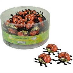 Delicious German Milk Chocolate Biedronki (Ladybugs).