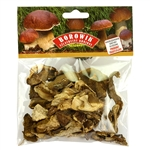 There is nothing quite like the aroma of Polish forest mushrooms to bring back memories of Christmas eve dinner.  They add a perfect flavor to home made bigos, kapusta or mushroom soup. No other mushroom is the same.