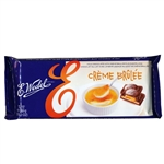 Extra large chocolate bar with Crème Brûlée Flavor Filling.