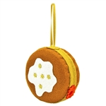 Hand made in Krakow by a real Polish babcia!   Made of felt and all made by hand. Our special keepsake looks like the real thing. Lightweight, it will hang nicely in your favorite collector's tree for many seasons to come! Great for both Paczki Day