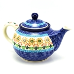 Beautiful teapot with a 26oz. capacity - 3.25 cups. Artist Initialed.