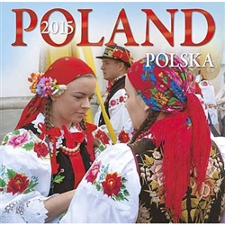 This beautiful 16 month calendar features 12 city and country scenes in full color, suitable for framing. In Polish and English language and EU weekly format (Monday is the first day of the week). Polish holidays and names days are listed and there is roo