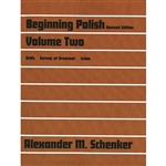 Keyed to the lessons in Volume 1, this volume contains drills specifically designed for classroom instruction. To access the audio files that accompany this text, go to http://archive.cls.yale.edu/polish/