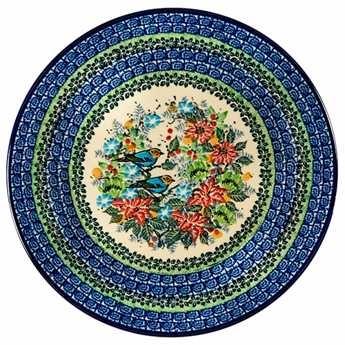 Alternative Views  sc 1 st  Polish Art Center & Polish Art Center - Unikat Polish Pottery Stoneware Dinner Plate U3184
