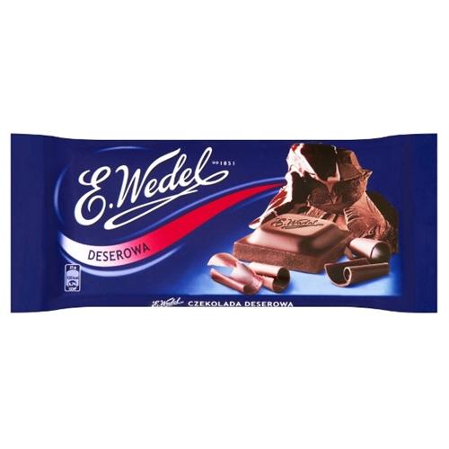 Polish Art Center - Wedel Bitter Dessert Chocolate Bar 50% Cocoa ...