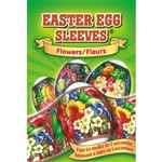 Set of 7 different Sleeves for decorating Eggs.