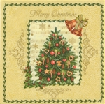 "Polish Folk Art Luncheon Napkins (package of 20) - ""Folk Tree""  Three ply napkins with water based paints used in the printing process."