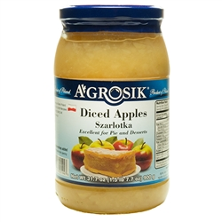 This product is ready made apple filling prepared according to the traditional Polish recipe for making szarlotka as well as for pastries, pies and other desserts. It must be refrigerated after opening. Product of Poland