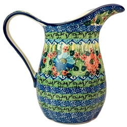"Pattern designed By Teresa Liana. The artist has been connected with the Artistic Handicraft Cooperative ""Artistic Ceramics and Pottery"" since 1983. Since 1992 she has been a pattern designer. Unikat pattern number U4117."