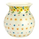 "Attractive 6"" tall vase. Artist initialed."